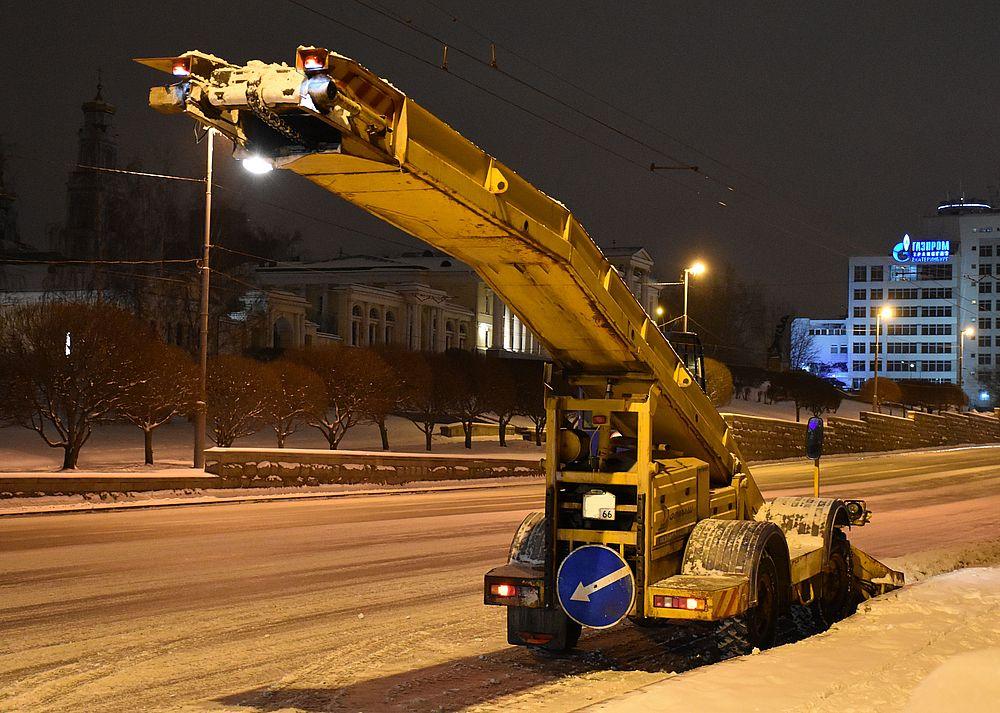 Снегопогрузчик СнП-17